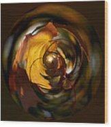 Fall Colorball Wood Print
