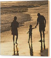 Family Time Wood Print