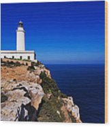 Far De La Mola On Formentera Wood Print