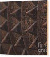 Farm Equipment Abstracts Wood Print