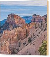 Farview Point At Bryce Canyon Wood Print