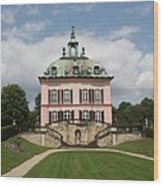 Fasanen Schloesschen - Germany    Pheasant Palace  Wood Print
