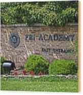 Fbi Academy Quantico Wood Print