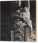 Female Sculpture Wood Print