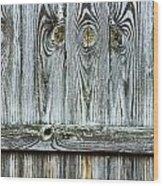 Fence Detail Wood Print