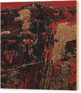 Feng Shui - Gold Mountain Wood Print