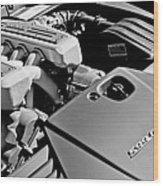 Ferrari 599 Gtb Engine  Wood Print