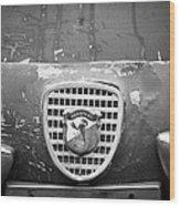 Fiat Grille Emblem Wood Print