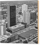 Fiberglass Tower Toledo Ohio Wood Print