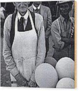 Film Homage Balloon Vender Extra The Great White Hope 1970 Globe Arizona 1969-2008 Wood Print