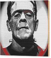Film Homage Boris Karloff The Bride Of Frankenstein 1935 Publicity Photo 1935-2012 Wood Print