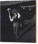 Film Homage Charlie Chaplin The Circus 1928 Clown Strong Circus Bisbee Arizona 1980 Wood Print