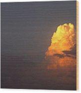 Film Noir Appointment With Danger Paul Stewart Alan Ladd 1951 2 Clouds Casa Grande Arizona 2004 Wood Print
