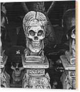 Film Noir Fritz Lang Ministry Of Fear 1944 Skeletons Nazi Helmets Nogales Sonora Mexico Wood Print