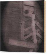 Film Noir Humphrey Bogart Lauren Bacall Dark Passage 1947 Elk's Club Aberdeen Sd 1966-2013 Wood Print