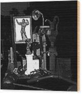Film Noir Richard Widmark Night And The City 1950 1 Johnny Gibson Health And Gym Equipment Tucson Wood Print