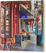 Findlay Market In Cincinnati 0006 Wood Print