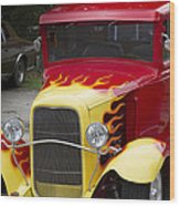 Fire Away Wood Print