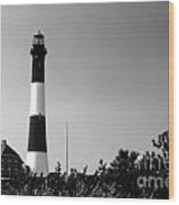 Fire Island Lighthouse Wood Print
