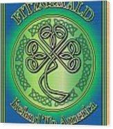Fitzgerald Ireland To America Wood Print