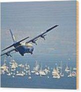 Fleet Week On San Francisco Bay Wood Print