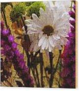 Floral Art IIi Wood Print
