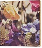 Floral Art V Wood Print