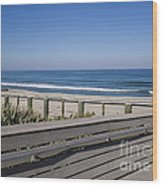 Florida At Melbourne Beach Wood Print