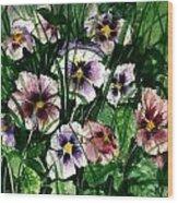 Flower Study I Wood Print