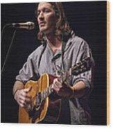 Folk Singer Griffen House Wood Print
