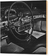 Ford Crestline Interior Wood Print