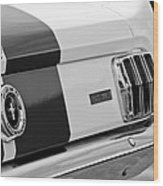 1966 Ford Shelby Mustang Gt 350 Taillight Wood Print