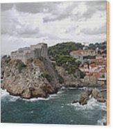 Fort Lovrijenac - Dubrovnik - Croatia Wood Print