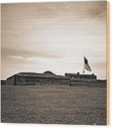Fort Mchenry  Wood Print