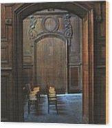 Fougere France Wood Print