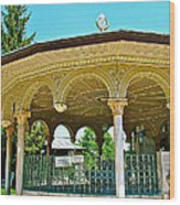 Fountain For Doing Ablutions In Konya-turkey  Wood Print