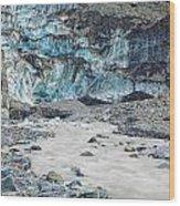 Fox Glacier Wood Print