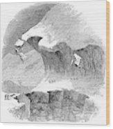 France Mont Blanc, 1851 Wood Print