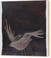 Freedom-2 Wood Print