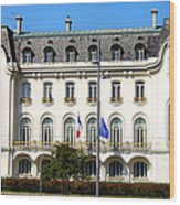 French Embassy In Vienna Wood Print