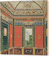 Fresco Decoration In The Summer House Wood Print
