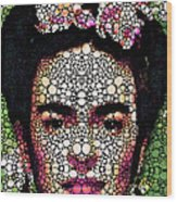 Frida Kahlo Art - Define Beauty Wood Print