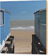 Frinton-on-sea Essex Uk Wood Print