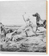 Frontiersman, 1858 Wood Print