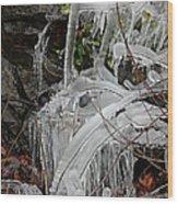 Frozen V Wood Print