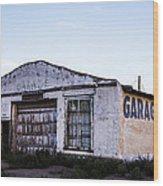 Garage 2 Wood Print