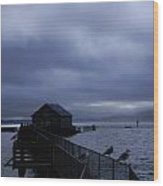 Garibaldi Pier 1 Wood Print