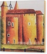Gateway To Brugge Wood Print