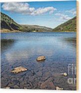 Geirionydd Lake  Wood Print
