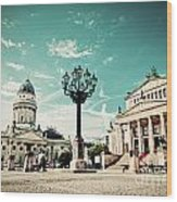 Gendarmenmarkt In Berlin Germany Wood Print